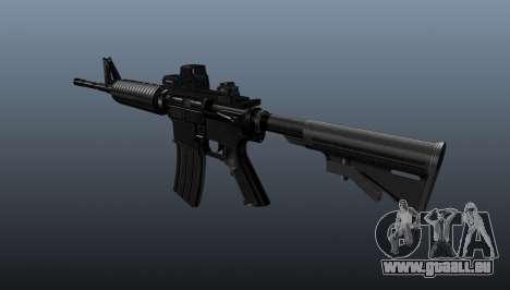 Automatique carabine M4A1 Tactical pour GTA 4 secondes d'écran