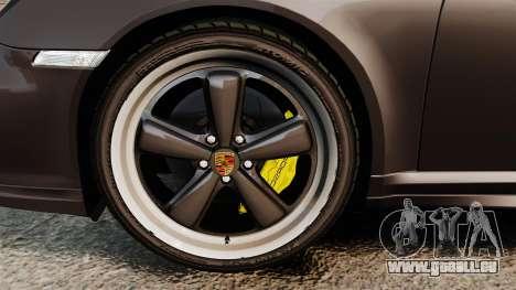 Porsche 911 Sport Classic 2010 pour GTA 4 est une vue de l'intérieur