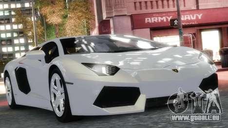 Lamborghini Aventador LP700-4 [EPM] 2012 pour GTA 4 est une vue de l'intérieur