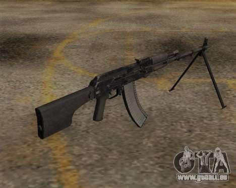 Le RPK-74 m pour GTA San Andreas deuxième écran