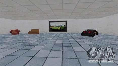 Salon de l'automobile Lamborghini pour GTA 4 quatrième écran
