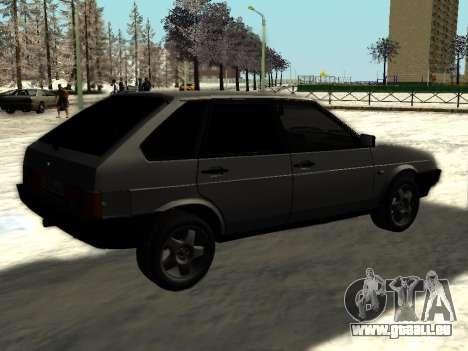 VAZ 21093i pour GTA San Andreas vue de droite
