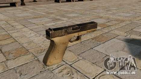 Ladewagen Glock-Pistole für GTA 4 Sekunden Bildschirm