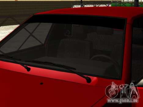 VAZ 21093i für GTA San Andreas zurück linke Ansicht