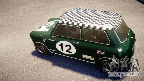 Austin Mini Cooper S pour GTA 4 est un droit