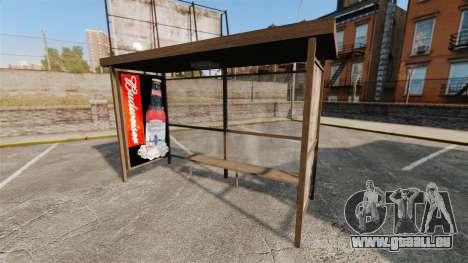 Neue Plakate an Bushaltestellen für GTA 4 fünften Screenshot