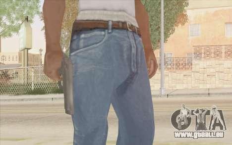 Pistolet Stechkin pour GTA San Andreas quatrième écran