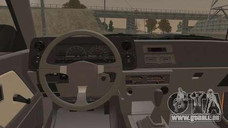 Toyota Corolla GT-S AE86 1985 pour GTA San Andreas vue intérieure