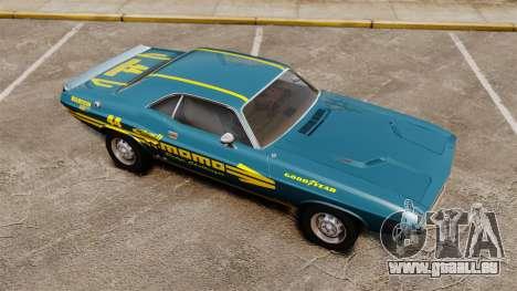Dodge Challenger 1971 v1 pour GTA 4 est un côté