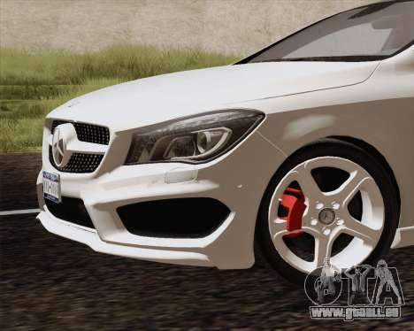 Mercedes-Benz CLA 250 2013 pour GTA San Andreas vue de droite