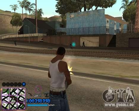 C-HUD by Dony Scofield für GTA San Andreas dritten Screenshot