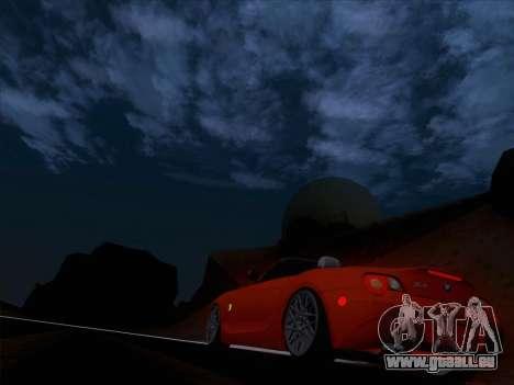 BMW Z4 Edit für GTA San Andreas Seitenansicht