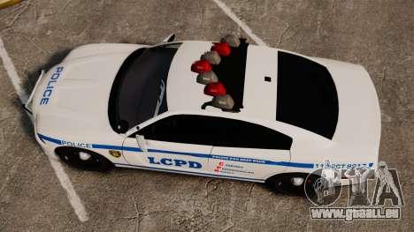 Dodge Charger 2012 LCPD [ELS] für GTA 4 rechte Ansicht