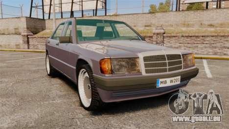 Mercedes-Benz E190 W201 für GTA 4