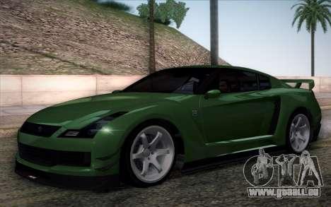 Elegy RH8 from GTA V pour GTA San Andreas vue intérieure