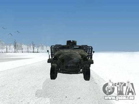 SdKfz 251 pour GTA San Andreas laissé vue