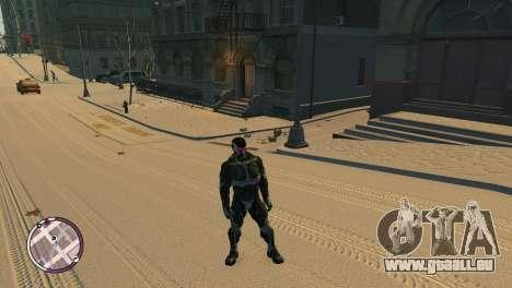Crysis NanoSuit pour GTA 4 troisième écran