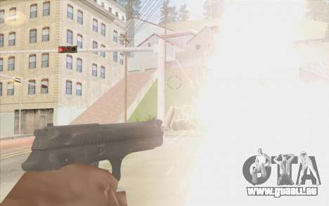 Pistolet Stechkin pour GTA San Andreas troisième écran