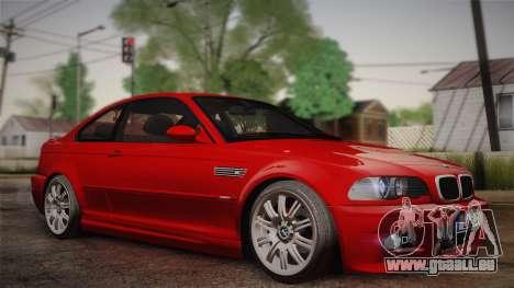 BMW E46 M3 Coupe pour GTA San Andreas