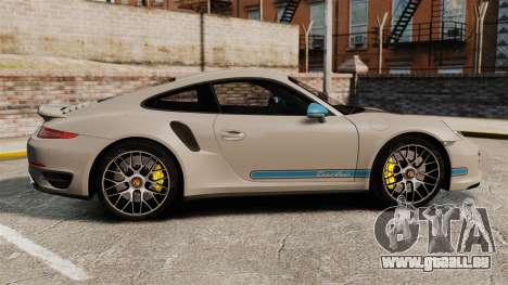 Porsche 911 Turbo 2014 [EPM] TechArt Design für GTA 4 linke Ansicht