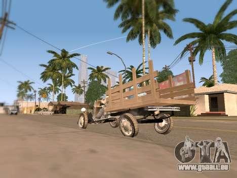 Citroen 2CV (Diana) pour GTA San Andreas vue de droite