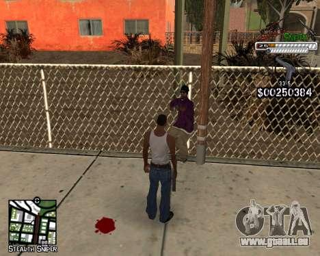 C-HUD by Stealth Sniper für GTA San Andreas dritten Screenshot