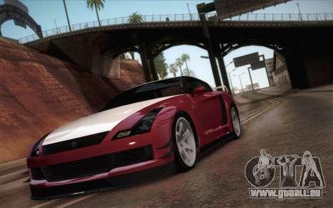 Elegy RH8 from GTA V pour GTA San Andreas laissé vue