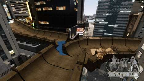 Algonquin Stunt Ramp pour GTA 4 cinquième écran