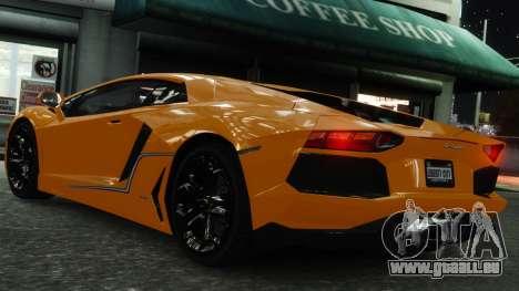 Lamborghini Aventador LP700-4 [EPM] 2012 pour GTA 4 roues