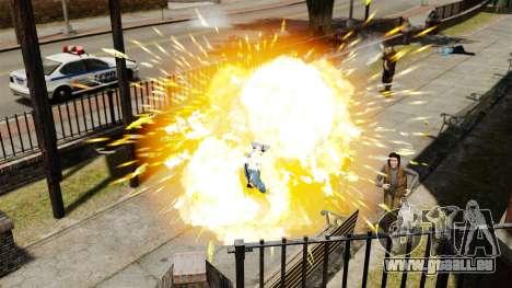 Explosion de balles pour GTA 4 cinquième écran