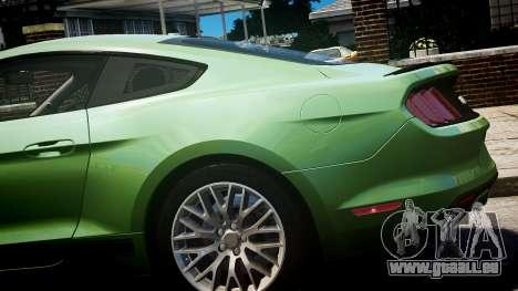 Ford Mustang GT 2015 für GTA 4 rechte Ansicht