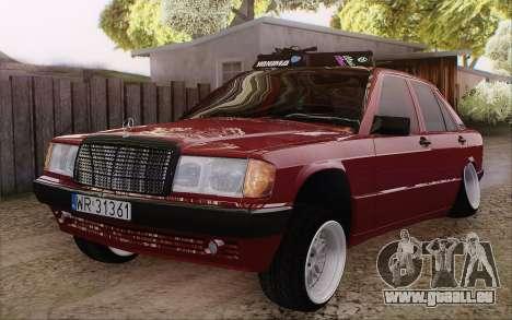 Mercedes-Benz 190E für GTA San Andreas