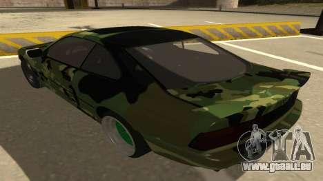 BMW 850CSi 1996 Military Version pour GTA San Andreas vue arrière