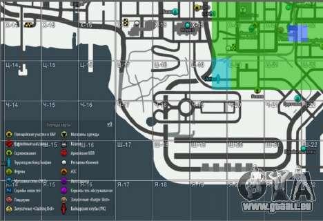 Carte avec l'édition d'hiver [Samp-Rp] pour GTA San Andreas