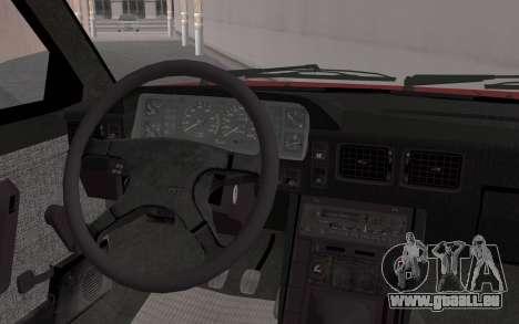 FSO Polonez Caro 1.4 GLI 16V pour GTA San Andreas vue de droite