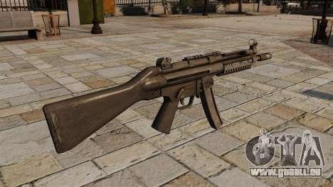 HK MP5 Maschinenpistole für GTA 4 Sekunden Bildschirm