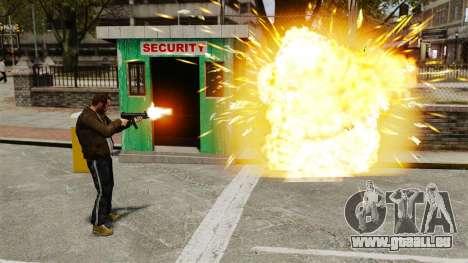 Explosion de balles pour GTA 4