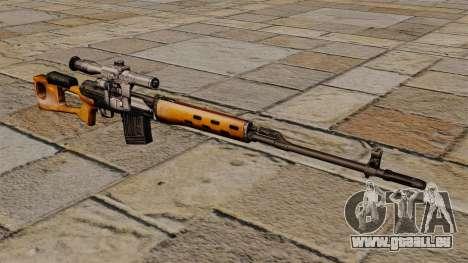 Dragunow-Scharfschützengewehr von s.t.a.l.k.e.r. für GTA 4