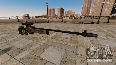 Fusil de sniper SV-98 pour GTA 4