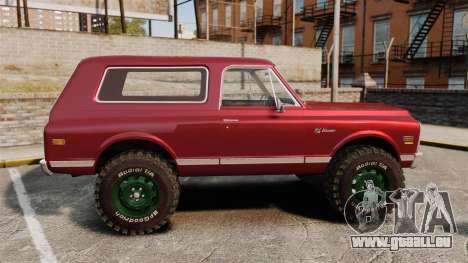 Chevrolet Blazer K5 1972 pour GTA 4 est une gauche