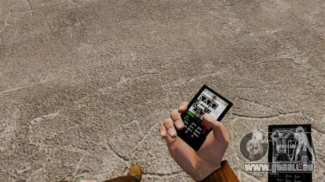 Thème de GTA IV pour votre téléphone pour GTA 4