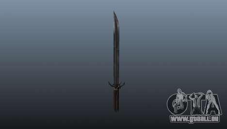 Dishonored Corvos Blade pour GTA 4 secondes d'écran