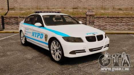 BMW 350i NYPD [ELS] für GTA 4
