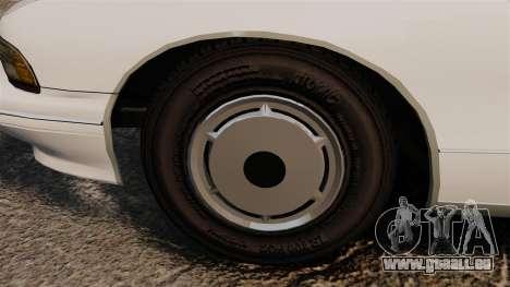 Chevrolet Caprice Police 1991 v2.0 N.o.o.s.e pour GTA 4 Vue arrière