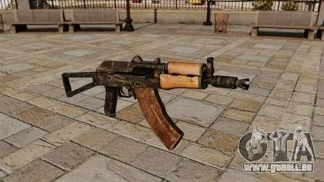 Automatische AKS74U für GTA 4