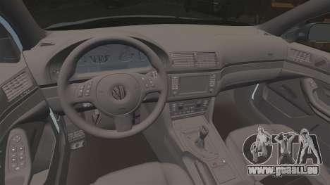 BMW M5 E39 2003 für GTA 4 Seitenansicht