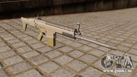 FN SCAR-H-Gewehr für GTA 4