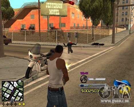 C-HUD by Alex-Castle pour GTA San Andreas