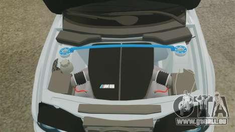 BMW M5 E39 2003 für GTA 4 Innenansicht