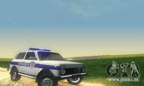 Lada Niva Patrola für GTA San Andreas